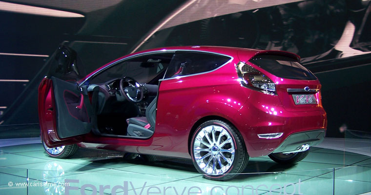 Ford verve concept salon de l 39 automobile francfort 2007 for Salon auto francfort