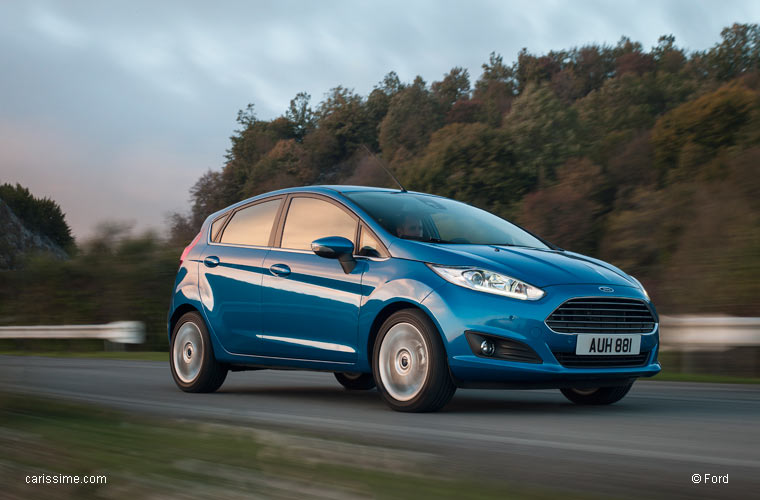 Ford Fiesta 5 Restylage 2012