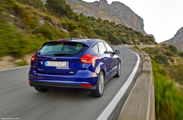 Ford Focus 4 Restylage 2014
