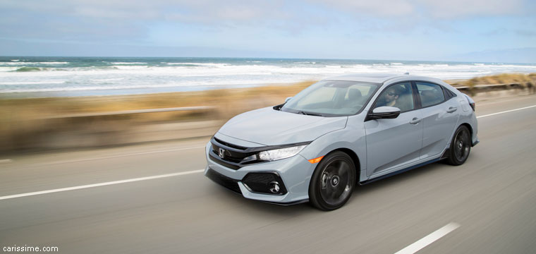Honda Civic 10 voiture compacte 2017