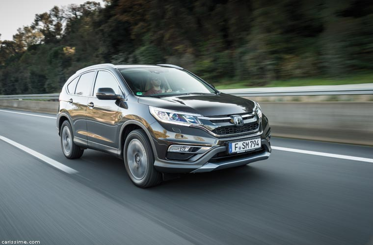 Honda CR-V 4 2015 SUV Compact restylage