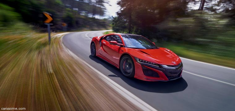 honda nsx 2016 carissime l 39 info automobile. Black Bedroom Furniture Sets. Home Design Ideas