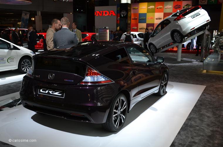 Honda au salon automobile de paris 2012 photos for Salon de paris auto