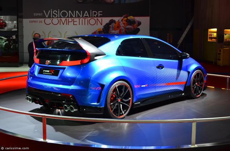 Honda au salon automobile de paris 2014 photos for Salon de l auto a paris