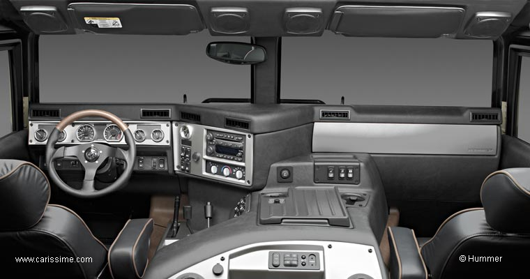 Hummer interieur for Interieur hummer