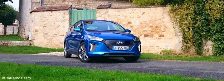 essai hyundai ioniq hybride electrique carissime l 39 info automobile. Black Bedroom Furniture Sets. Home Design Ideas
