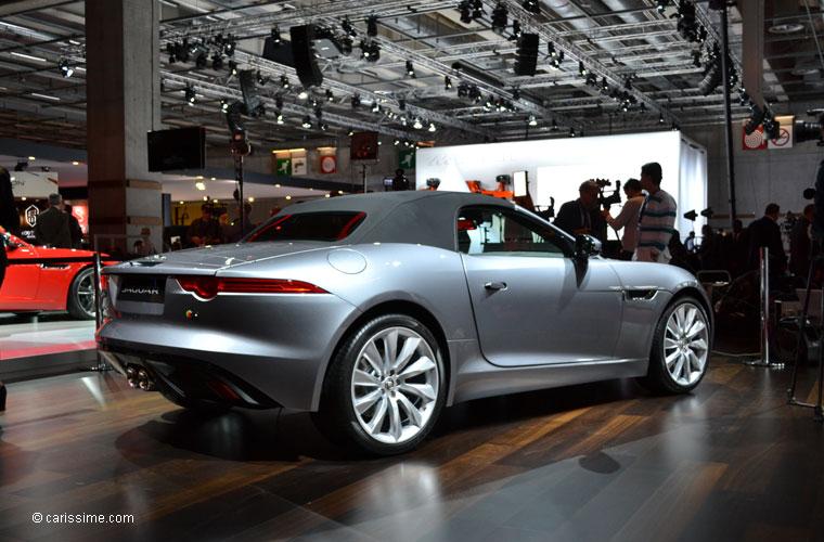 Jaguar au salon automobile de paris 2012 photos for Salon de paris auto