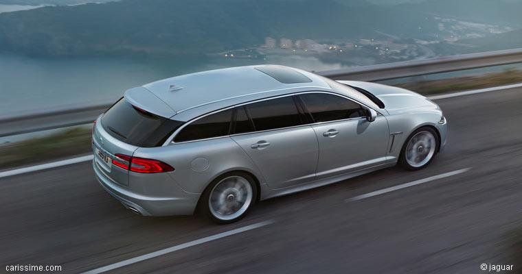 jaguar xf sportbrake 2012 : voiture break de luxe