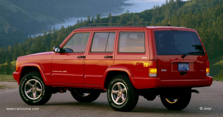 jeep cherokee 1 1993 2001 voiture occasion. Black Bedroom Furniture Sets. Home Design Ideas