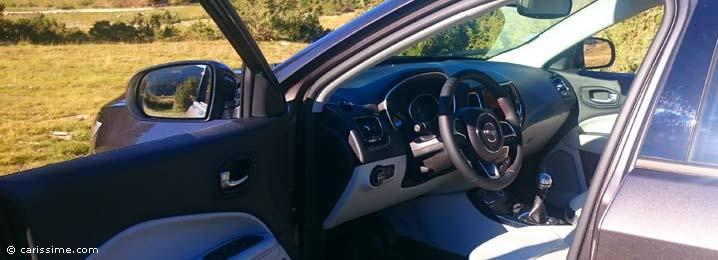 Essai jeep compass 2017 carissime l 39 info automobile for Interieur jeep compass