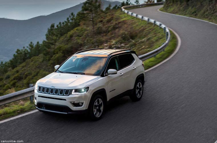 jeep compass 2017 carissime l 39 info automobile. Black Bedroom Furniture Sets. Home Design Ideas