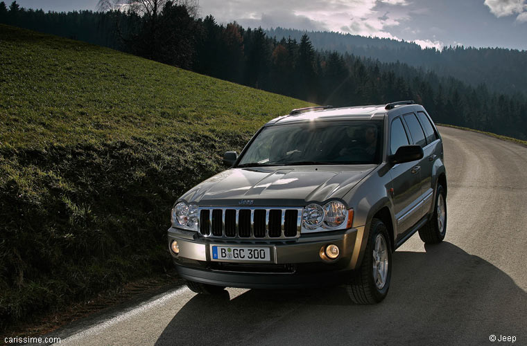 jeep grand cherokee 3 2005 2007 voiture occasion. Black Bedroom Furniture Sets. Home Design Ideas