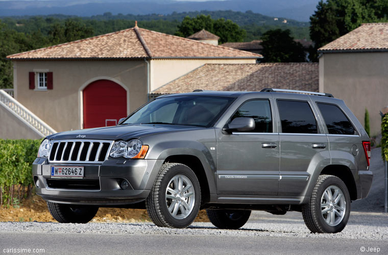 jeep grand cherokee 3 restylage 2007 2010 voiture occasion. Black Bedroom Furniture Sets. Home Design Ideas