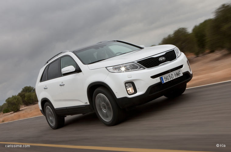 kia sorento 2 restylage 2012 2014 voiture 4x4 suv 7 places. Black Bedroom Furniture Sets. Home Design Ideas