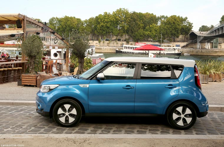 kia soul ev electrique carissime l 39 info automobile. Black Bedroom Furniture Sets. Home Design Ideas