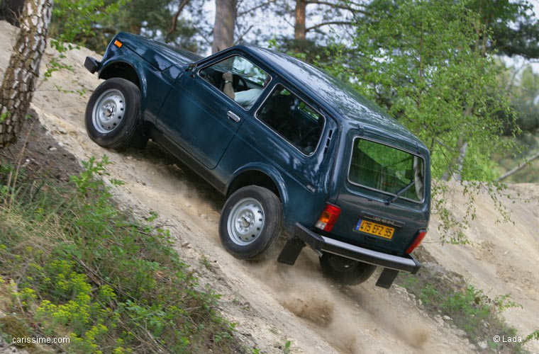 Lada niva voiture 4x4 for Interieur lada niva