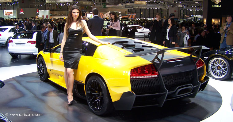 Lamborghini murcielago lp670 superveloce salon de l for Salon geneve auto