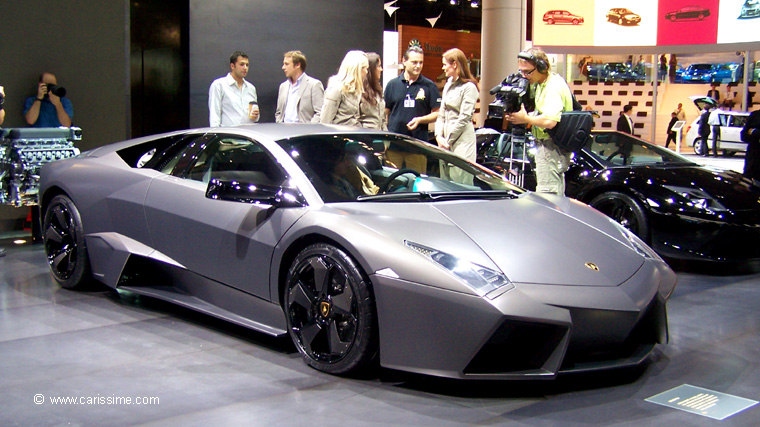 lamborghini reventon salon de l 39 automobile francfort 2007. Black Bedroom Furniture Sets. Home Design Ideas