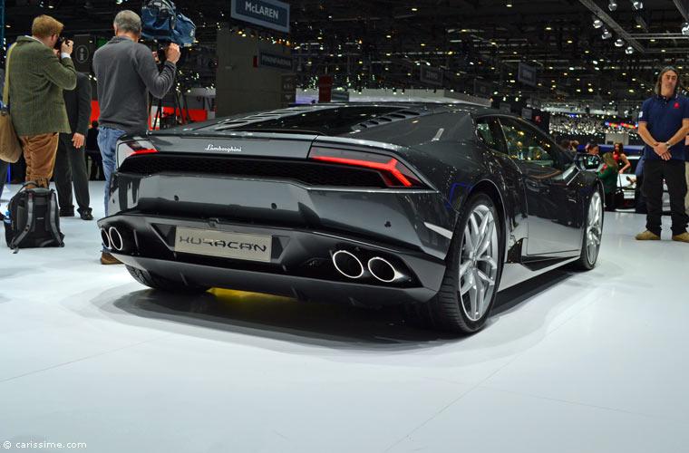 Lamborghini Au Salon Automobile De Gen 232 Ve 2014 Photos