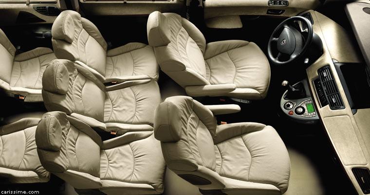 lancia phedra 2002 2008 voiture grand monospace. Black Bedroom Furniture Sets. Home Design Ideas
