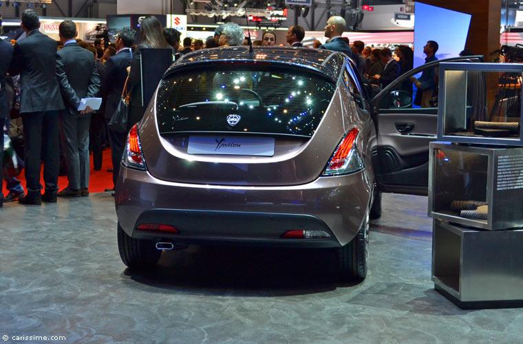 Lancia au salon automobile de gen ve 2014 photos for Salon d auto geneve