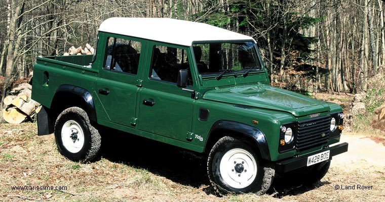 Lander Rover Defender 130 Pick Up Occasion