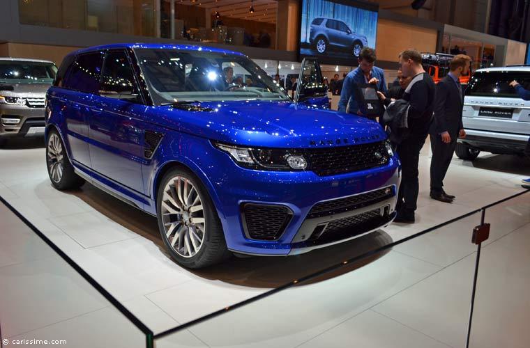 Land rover au salon automobile de gen ve 2015 photos for Salon d auto geneve