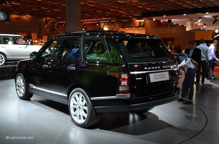 Land rover au salon automobile de paris 2012 photos for Salon de paris auto