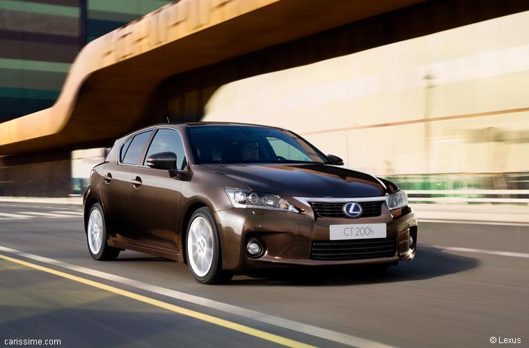 lexus ct 200h hybride 2011 2014 voiture compacte de luxe. Black Bedroom Furniture Sets. Home Design Ideas
