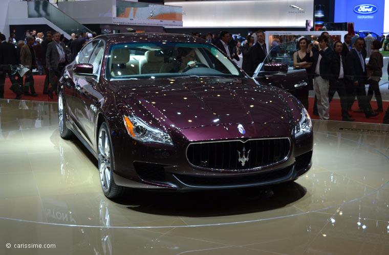 Maserati au salon automobile de gen ve 2013 photos for Salon d auto geneve
