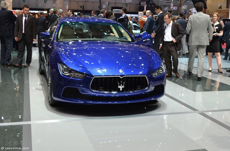 Maserati au salon automobile de gen ve 2014 photos for Salon de geneve 2014