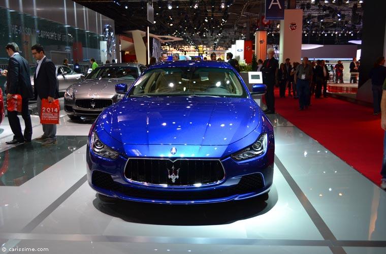 Maserati au salon automobile de paris 2014 photos for Salon de l auto paris