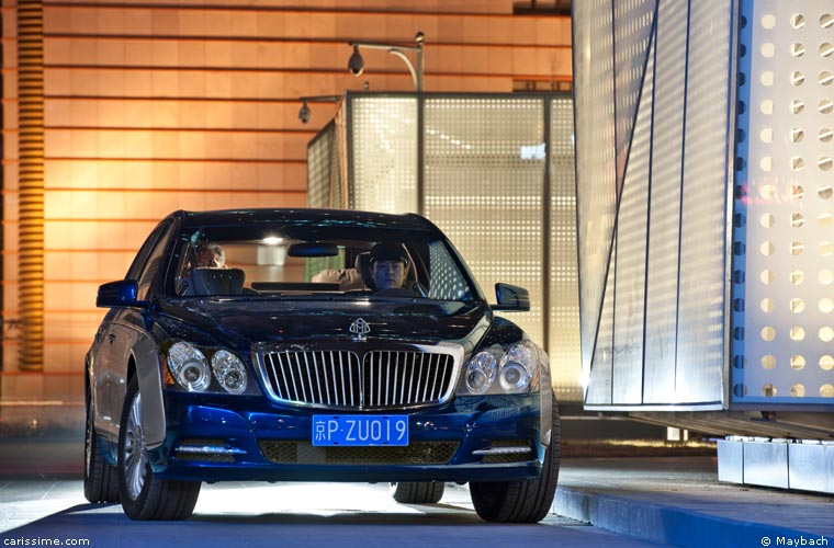 Maybach 57 & 62 restylage 2010 / 2013