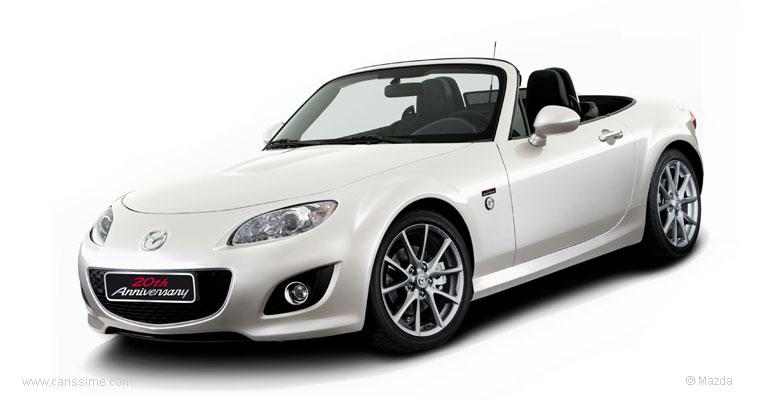 mazda mx5 cabriolet 20em anniversaire voiture neuve occasion nouveaut auto. Black Bedroom Furniture Sets. Home Design Ideas