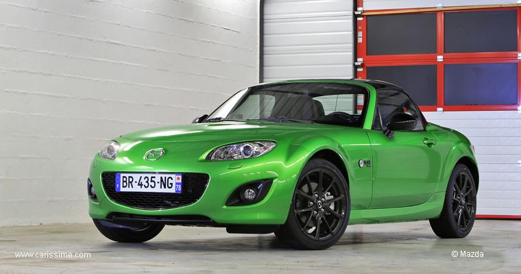 mazda mx5 cabriolet 2 restylage 2009 black voiture neuve occasion nouveaut auto. Black Bedroom Furniture Sets. Home Design Ideas