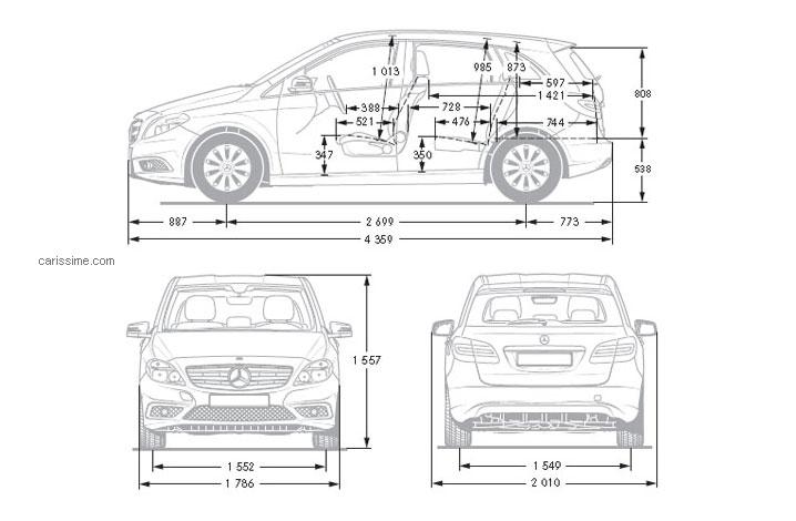 mercedes classe b 2 2014 carissime l 39 info automobile. Black Bedroom Furniture Sets. Home Design Ideas