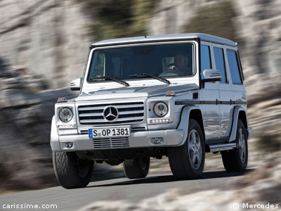 mercedes classe g restylage 2012 voiture 4x4 de luxe. Black Bedroom Furniture Sets. Home Design Ideas