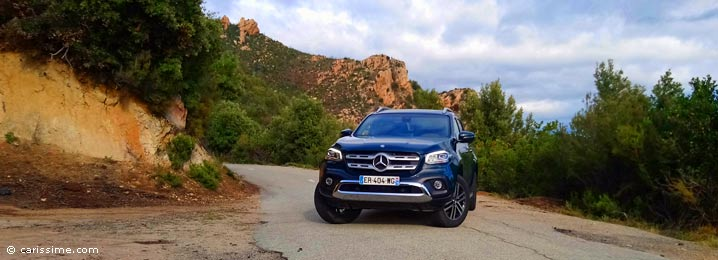 Essai Mercedes Classe X pick up