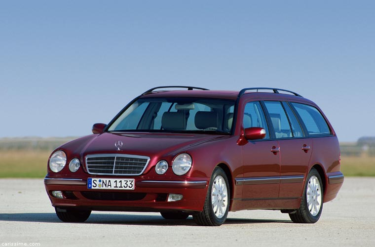 mercedes e station wagon break 1995 w210. Black Bedroom Furniture Sets. Home Design Ideas