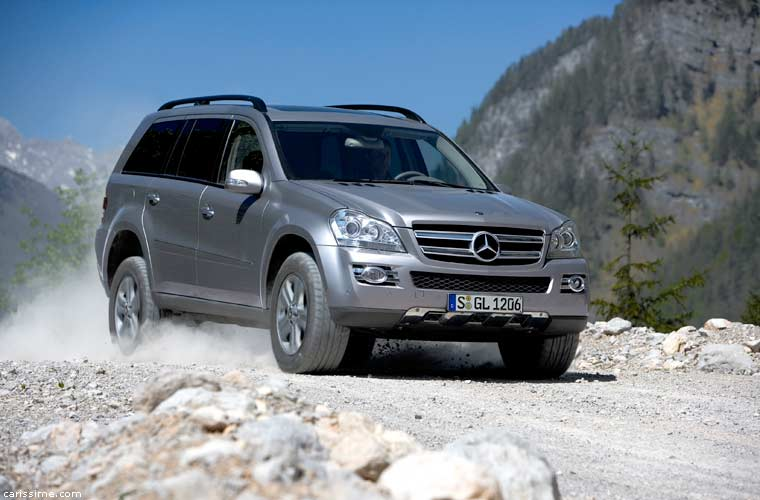 mercedes gl 2006 voiture 4x4 suv de luxe. Black Bedroom Furniture Sets. Home Design Ideas