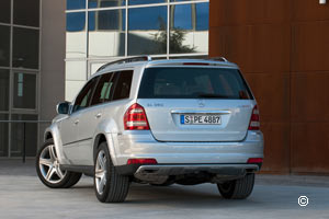 Mercedes GL 4x4 de luxe 2009 Restylage