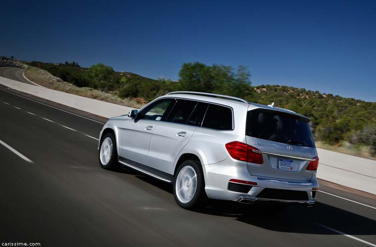 Mercedes GL 4x4 de luxe 2012 Restylage
