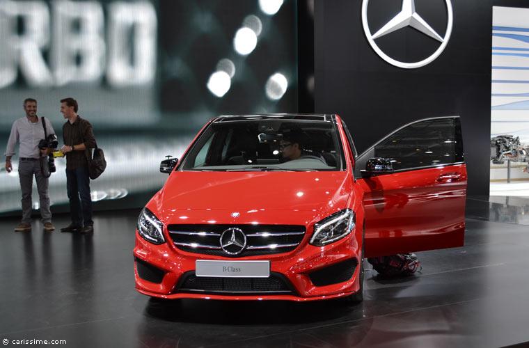 Mercedes au salon automobile de paris 2014 photos for Salon de l auto paris