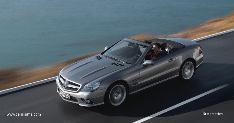 mercedes sl 350 5 restylage 2008 voiture neuve occasion nouveaut auto. Black Bedroom Furniture Sets. Home Design Ideas