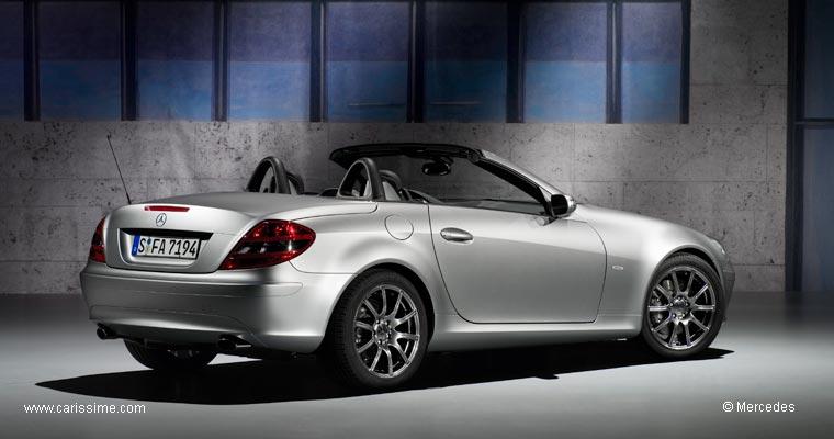 mercedes slk edition 10 voiture mercedes slk auto occasion. Black Bedroom Furniture Sets. Home Design Ideas