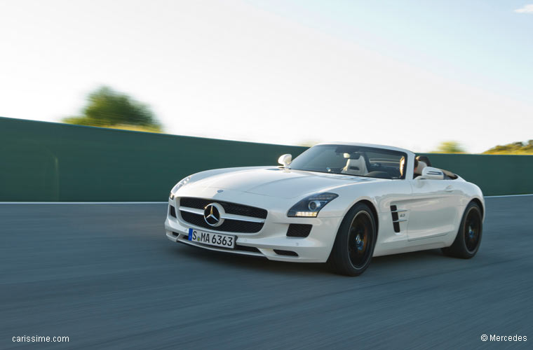 mercedes sls roadster 2011 2014 cabriolet de luxe. Black Bedroom Furniture Sets. Home Design Ideas