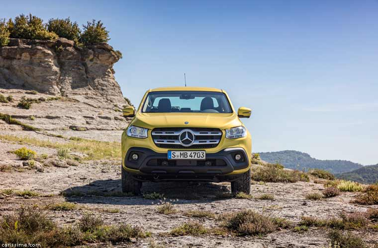 Mercedes Classe X Pick-Up 2017
