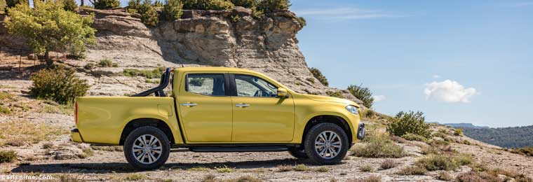 Mercedes X-Class Pick-Up 2017