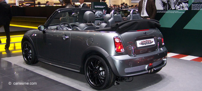mini cabriolet john cooper works voiture occasion. Black Bedroom Furniture Sets. Home Design Ideas
