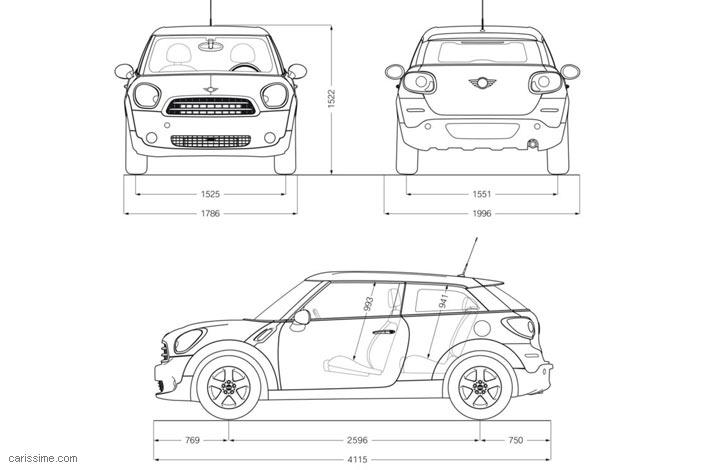 mini paceman 2014 carissime l 39 info automobile. Black Bedroom Furniture Sets. Home Design Ideas